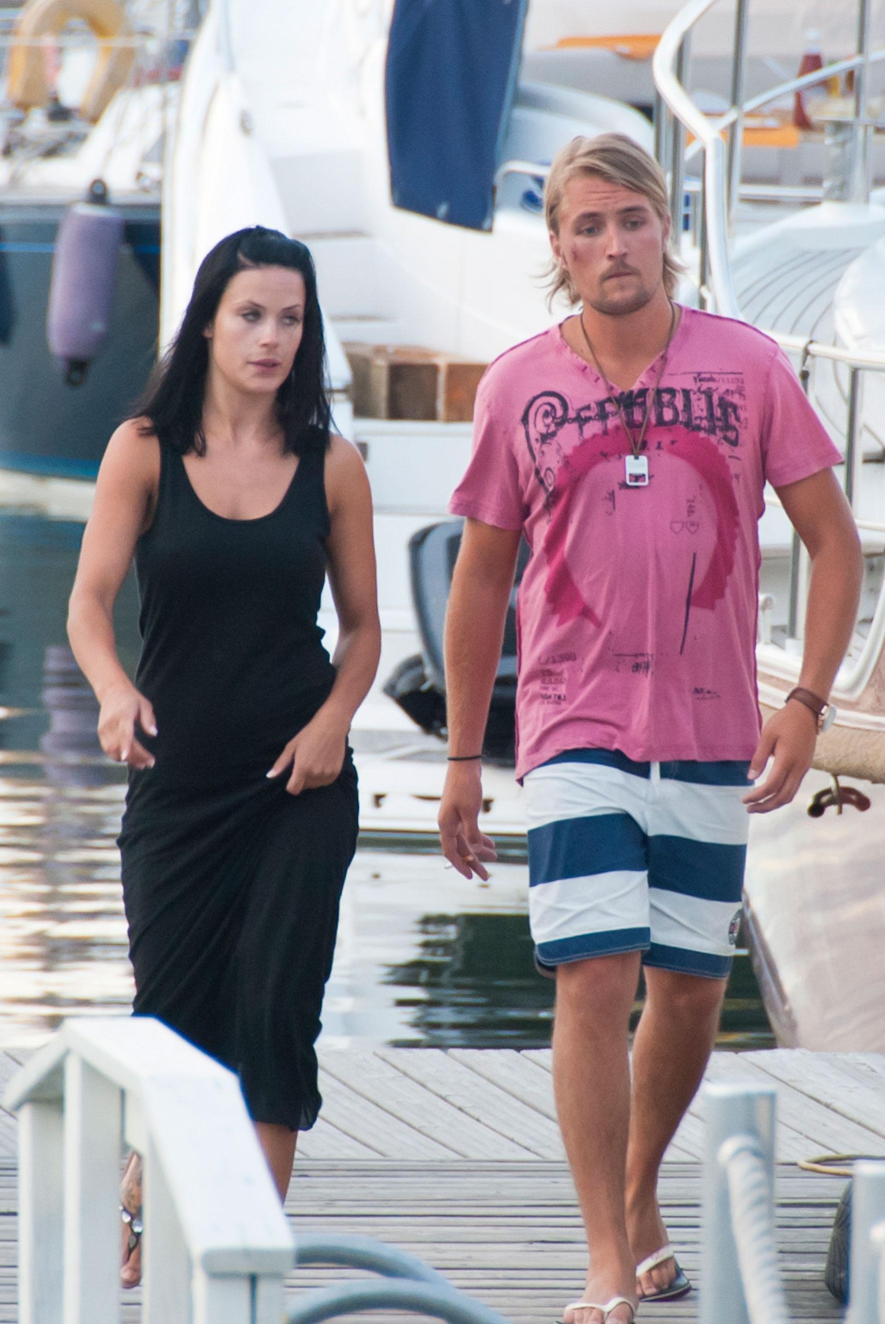 Martina ja Stefan alkoivat heilastella vuonna 2011.