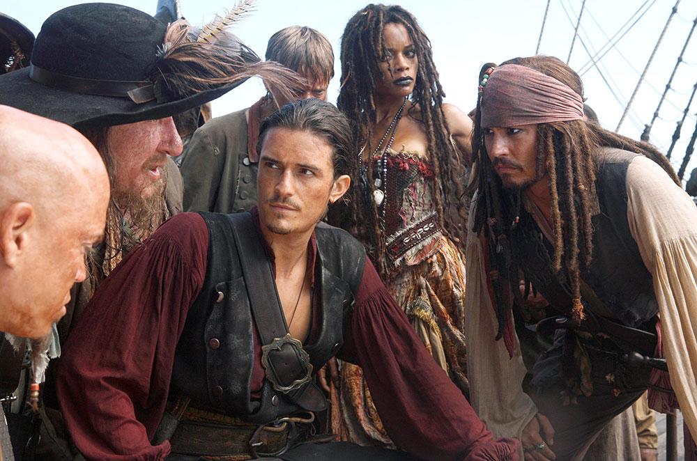 Orlando Bloom Pirates of The Caribbean -elokuvassa
