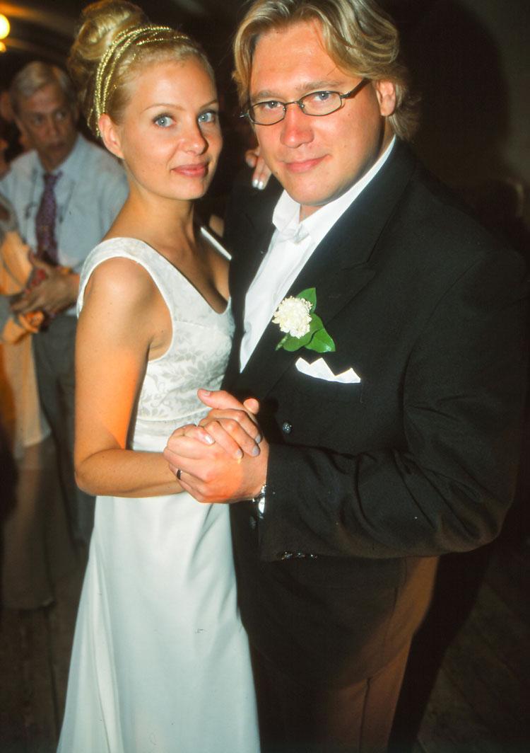 Samuli Edelmann ja vaimo