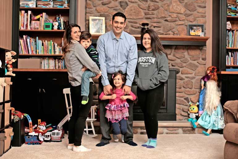 Victorin perhe on kiitollinen lääkäreille, jotka ovat auttaneet poikaa syntymästä lähtien.