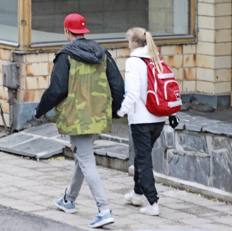 Pekka Hyysalo ja Enna.