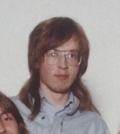 Jussi Halla-aho lukiossa.