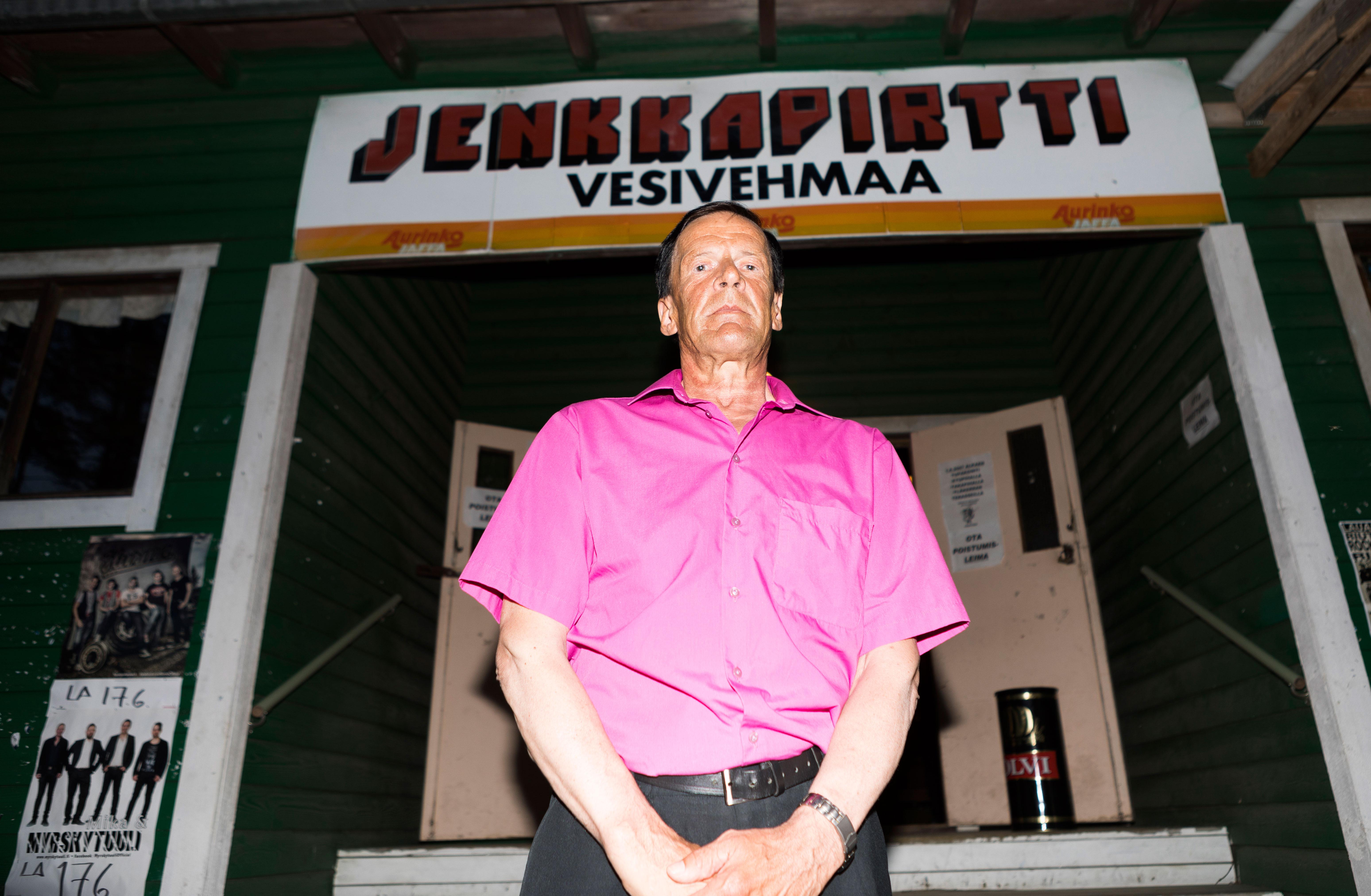 Markku Aron tanssilavakeikka Vesivehmaan Jenkkapirtillä.
