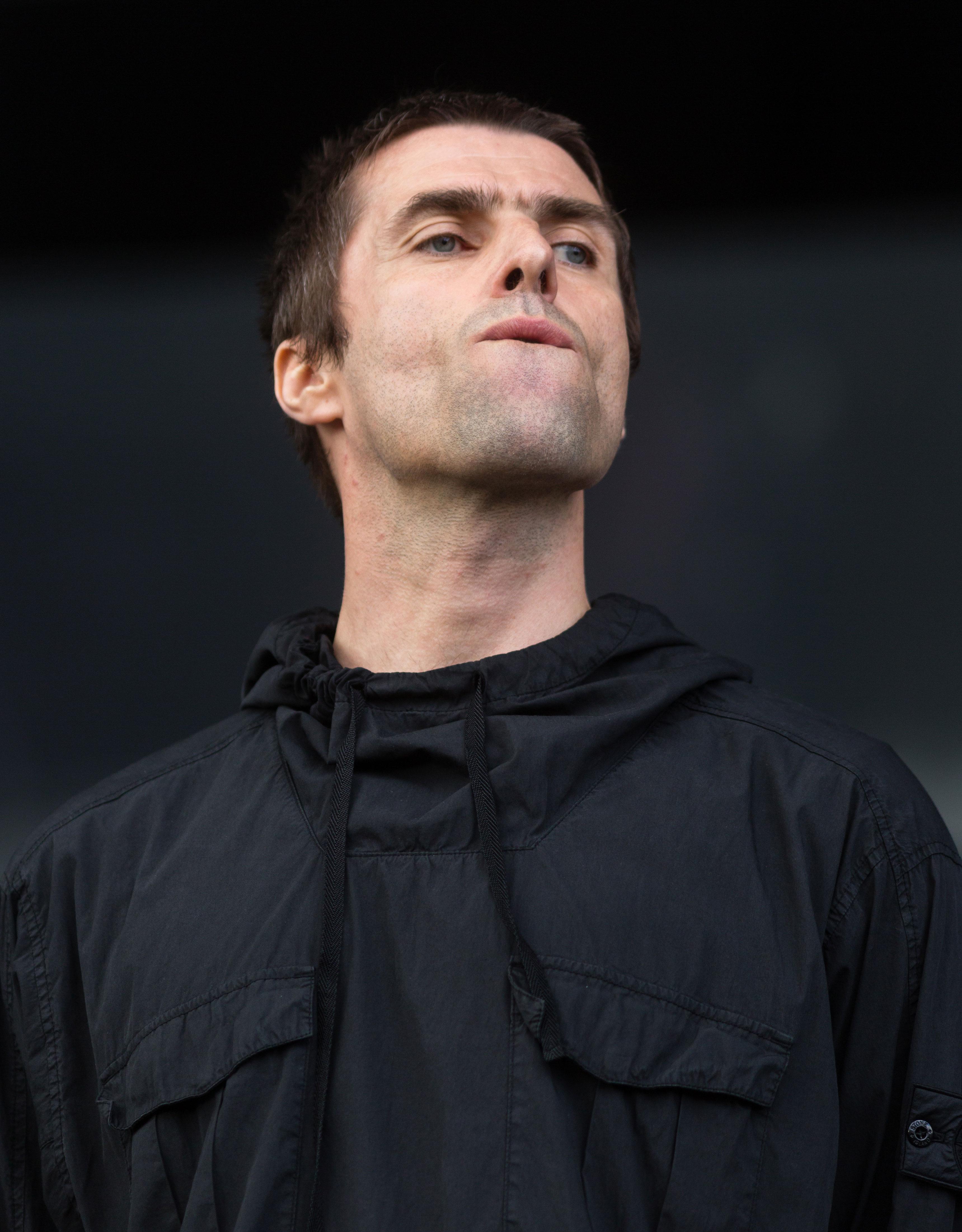 Liam Gallagher, 44, säväytti Turussa.