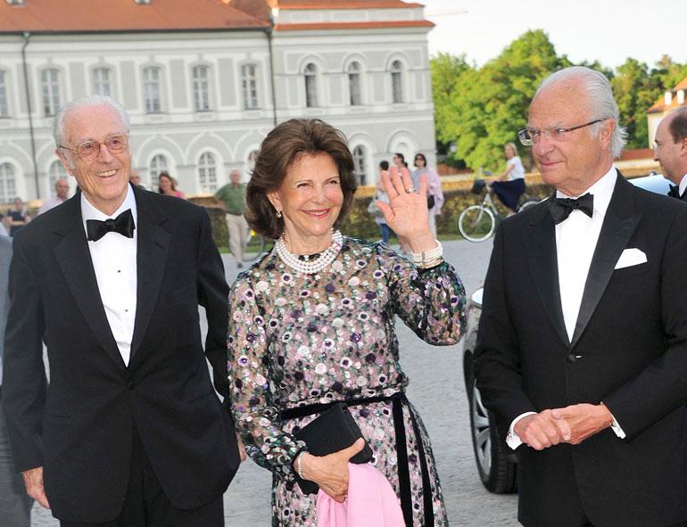 Ruotsin kuningas Kaarle Kustaa ja kuningatar Silvia