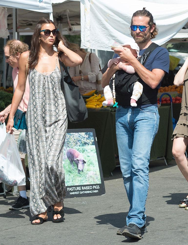 Irina Shayk ja Bradely Cooper marketilla