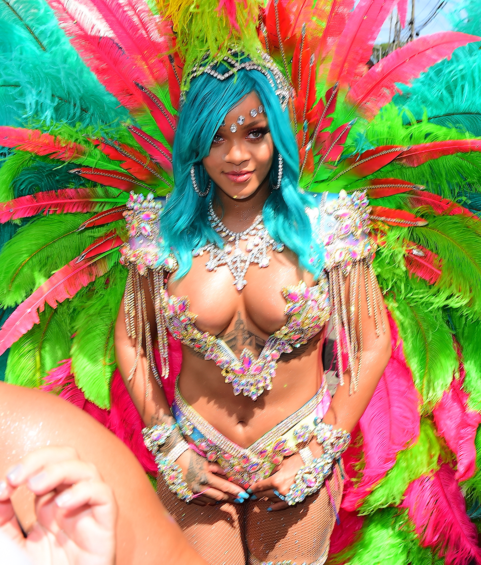 Rihanna Crop over festival