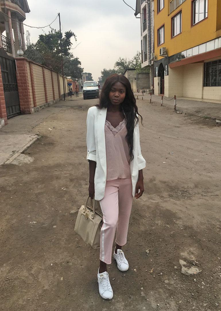 Kelly Kalonji vieraili synnynmaassaan Kongossa.