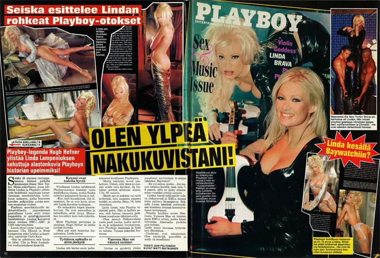 Linda Lampenius vuonna 1998