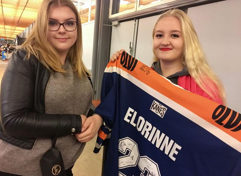 Heta Salminen ja Jessica Joensuu ovat jopa fanittaneet Tapparan tanssityttöjä.