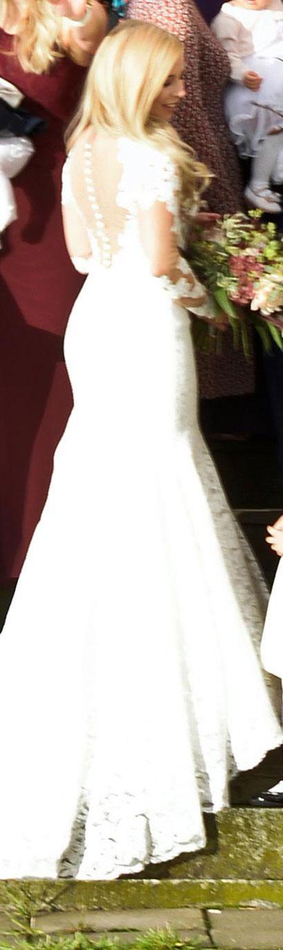 Krista Siegfrids meni naimisiin.