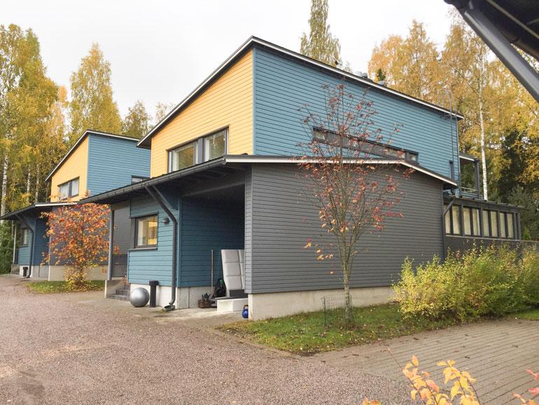 Jere Karalahden uusi talo.