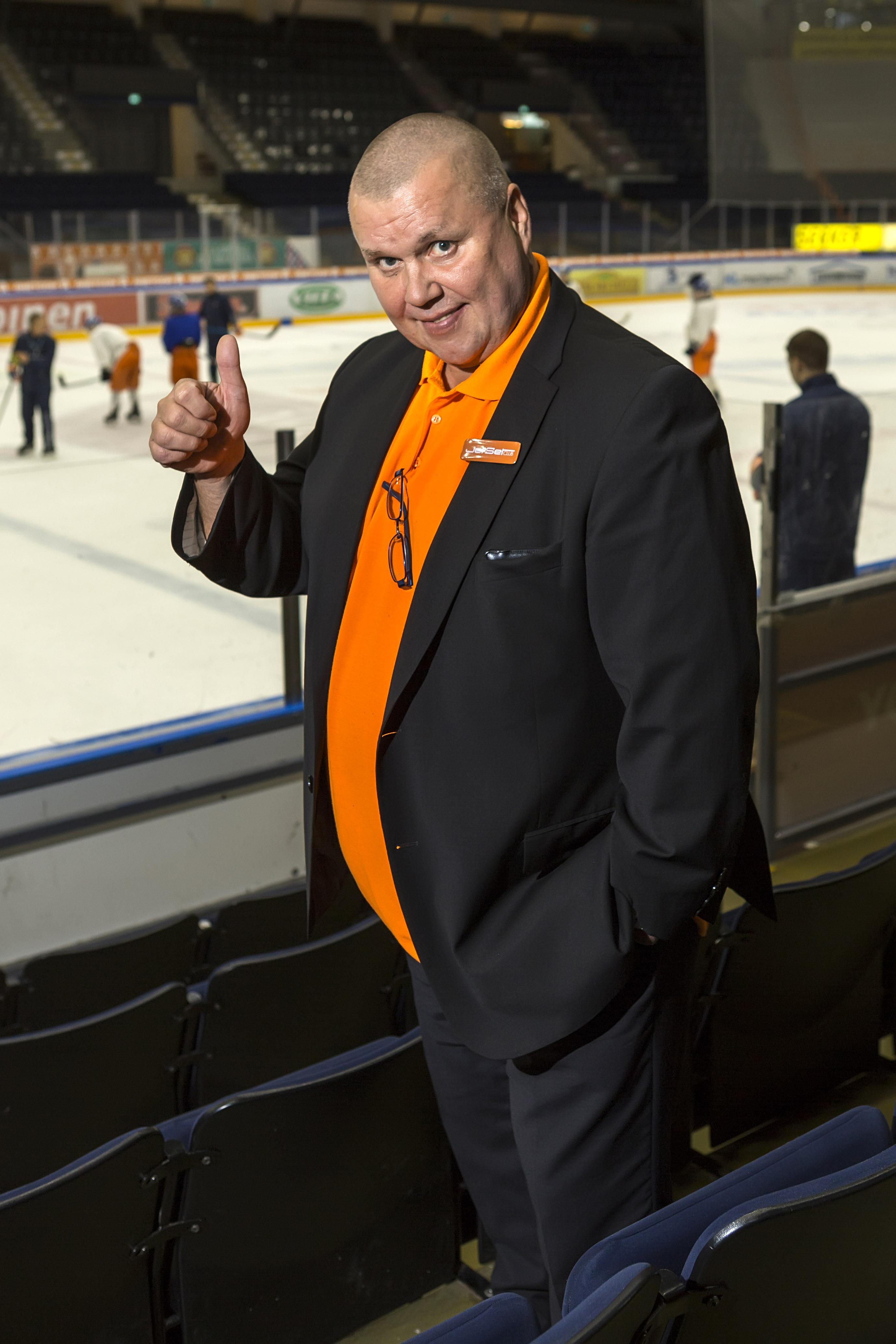 Timo Jutila Tampereen Hakametsässä.