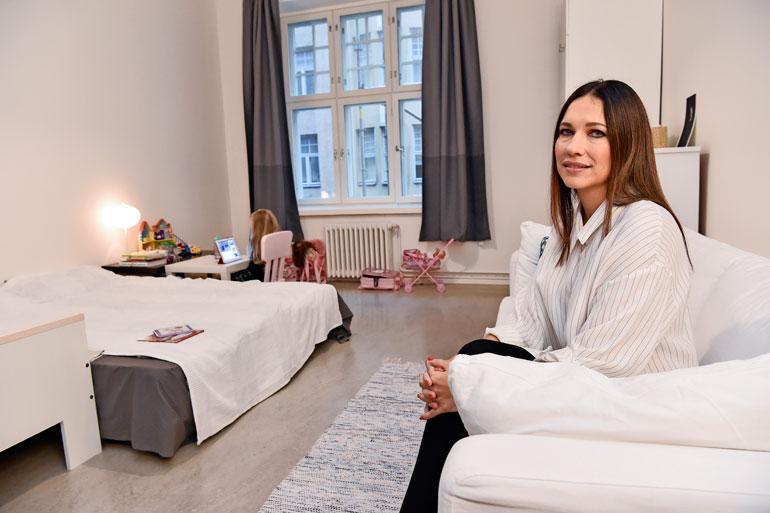 Oksana Chaiko muutti Helsinkiin.