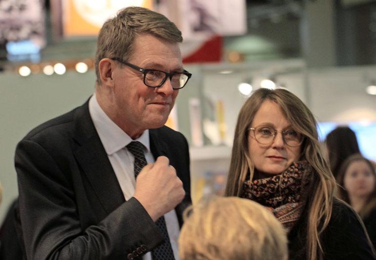 Matti Vanhanen on presidenttiehdokas.