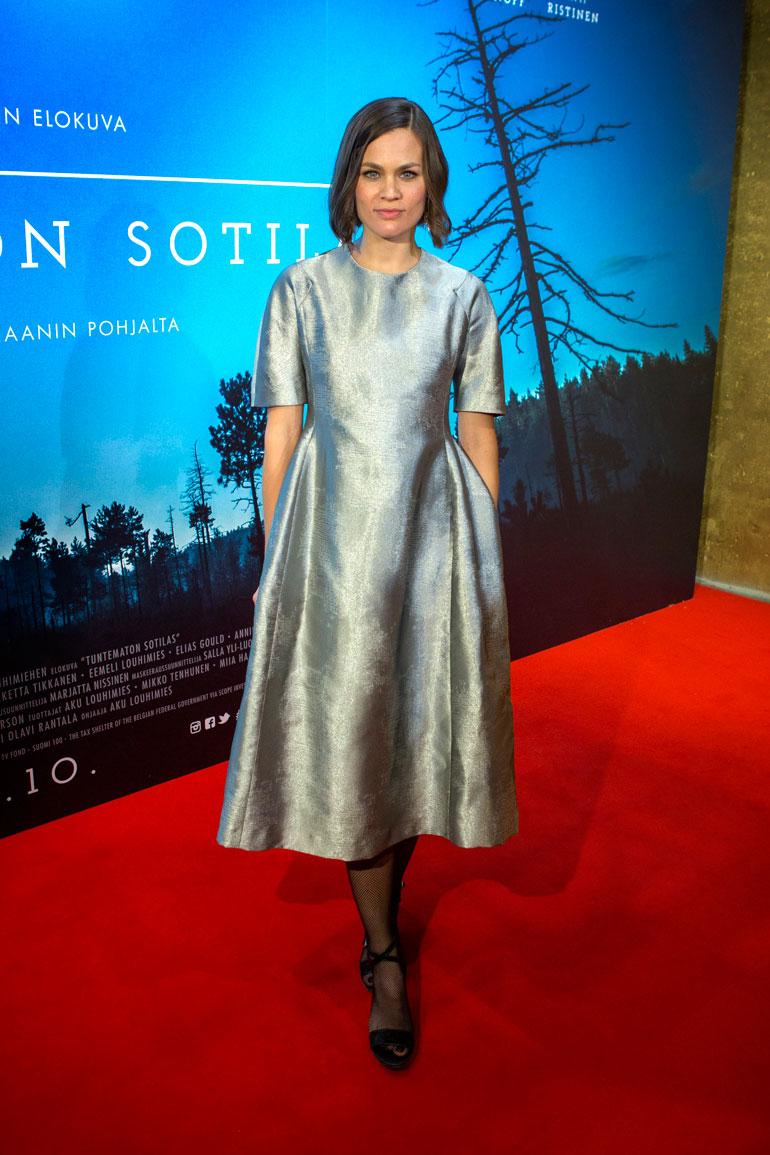 Annika Stenvall on malli ja näyttelijä.