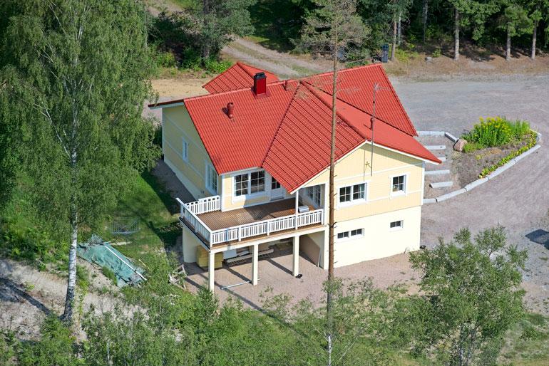 Matti Vanhasen koti.