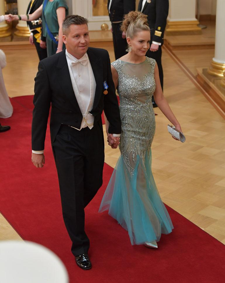 Jani Sievinen ja Maria Nyqvist