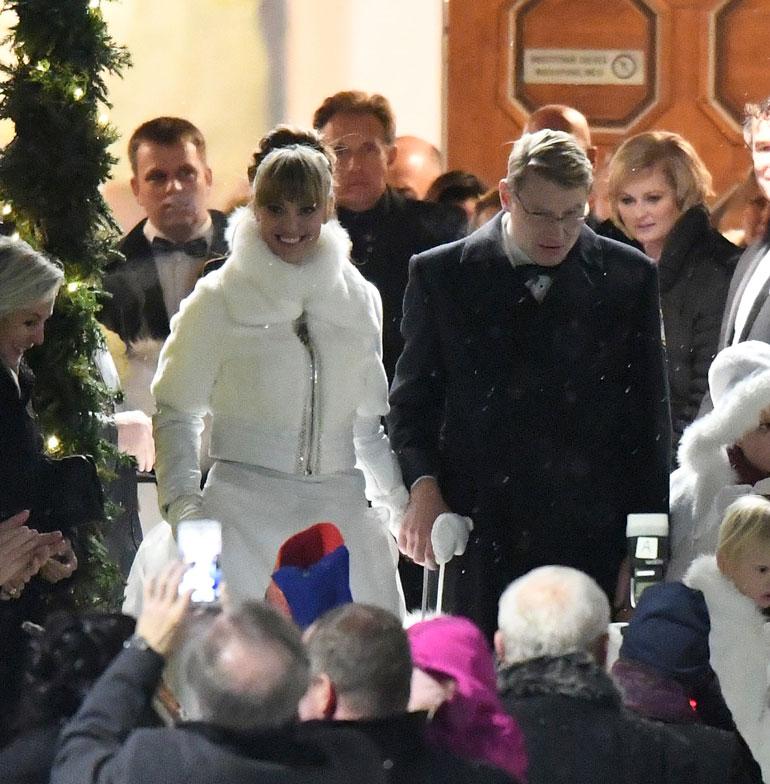 Mika ja Marketa Häkkisen häät.