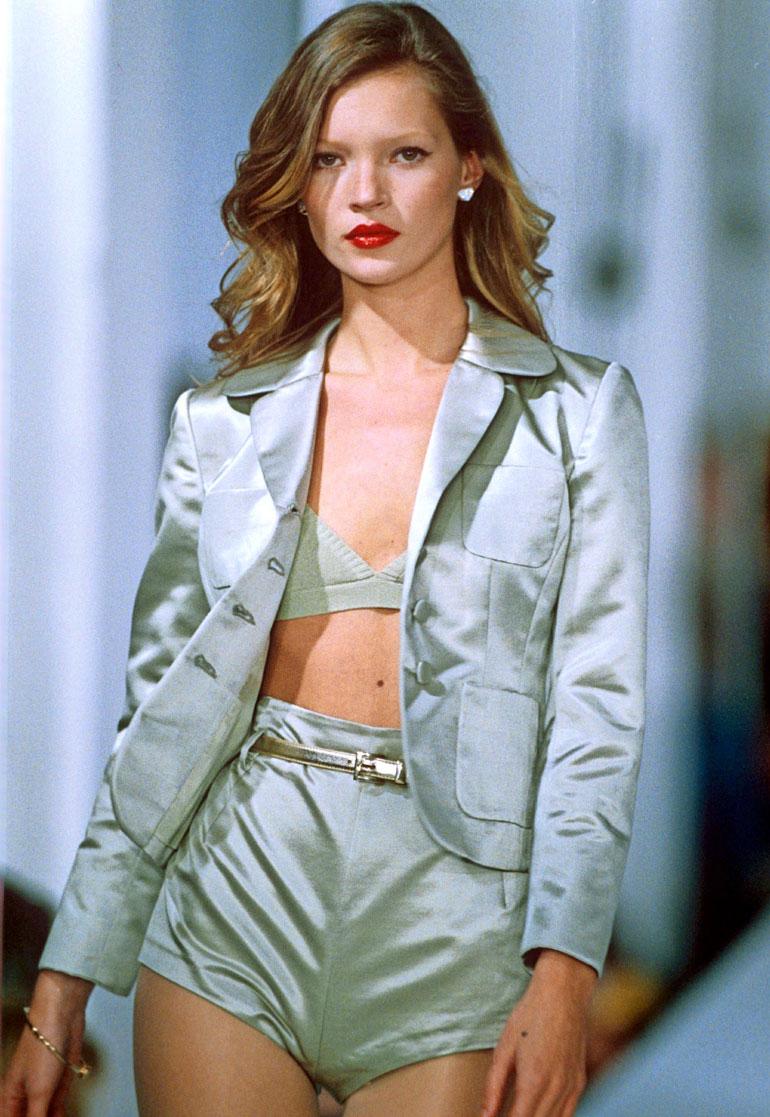 Kate Moss ennen.
