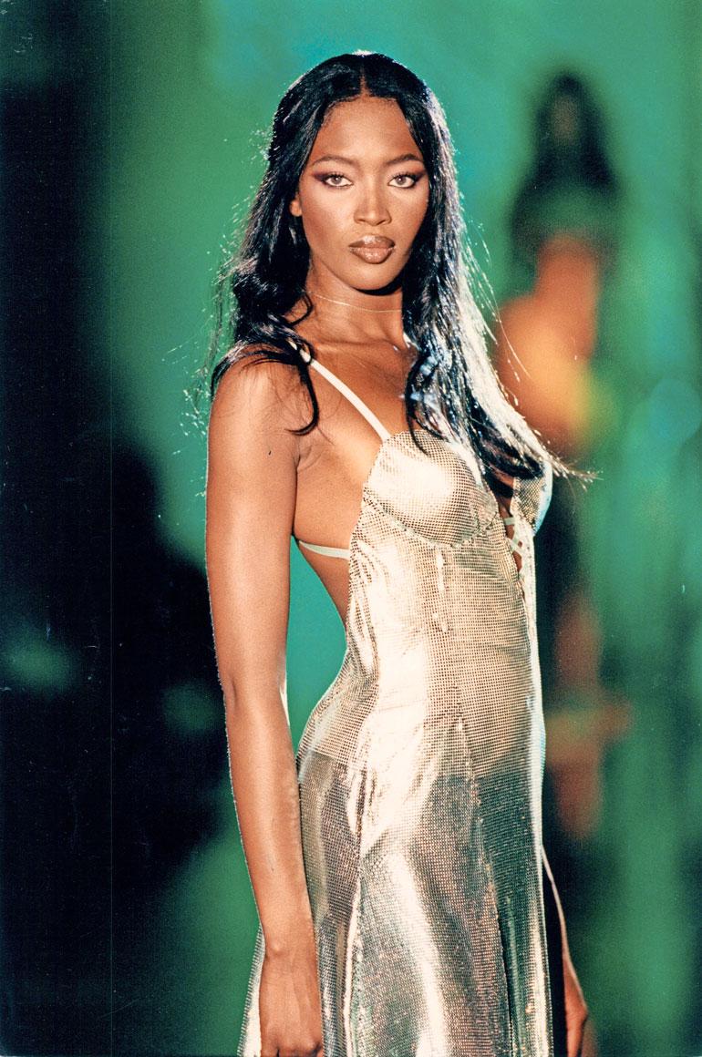 Naomi Campbell ennen.