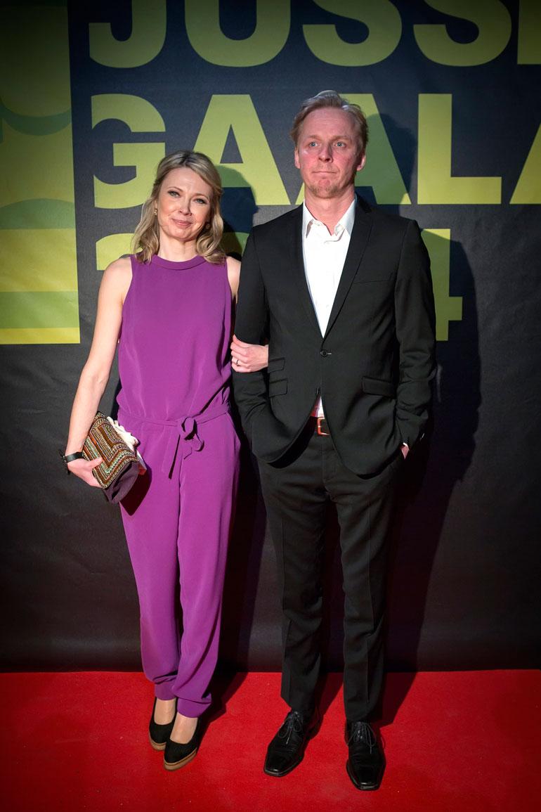Eero Aho ja Teresa Meriläinen.
