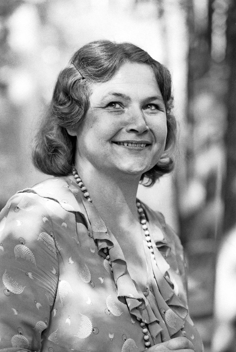 Anja Pohjola vuonna 1975.