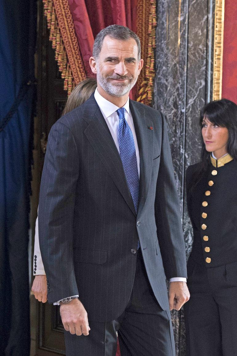 Espanjan kuningas Felipe juhlii viisikymppisiään.