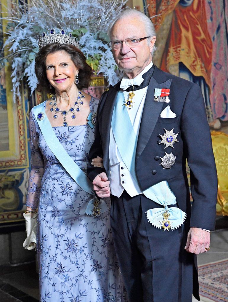 200 vuotta Ruotsia hallinneen Bernadotten suvun päämies, Kaarle Kustaa on ollut kuninkaana jo 45 vuotta.