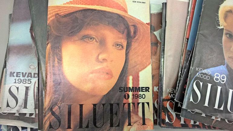 Anusta tuli Neuvosto-Viron supermalli. Hän poseerasi vuoden 1980 Siluett-lehden kannessa.