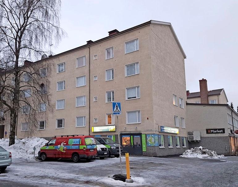 Otso asuu Tampereen Kalevassa, mistä on matkaa Hakametsän jäähalliin vain vajaat kaksi kilometriä.