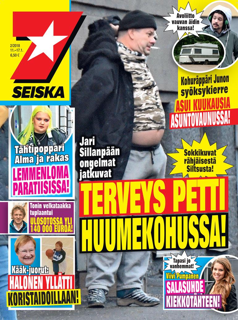 Seiskan kansi Jari Sillanpäästä.