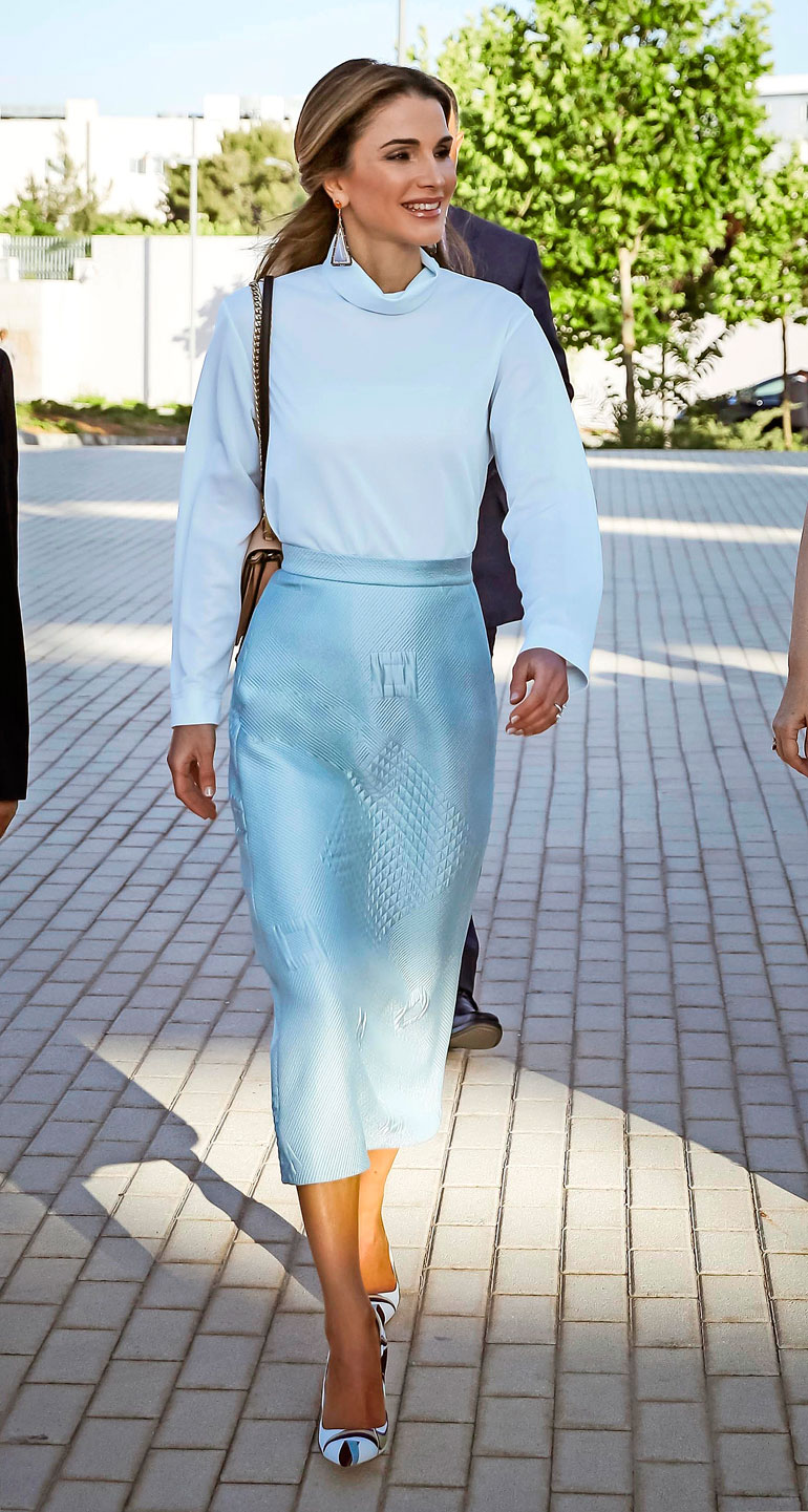 Jordanian kuningatar Rania