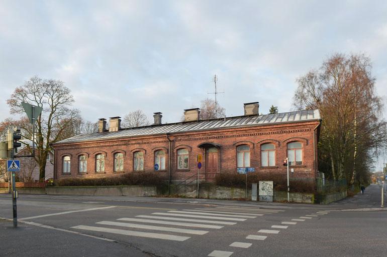 Remun koti sijaitsee aivan Helsingin Vanhankaupunginkosken tuntumassa.