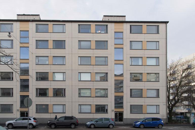 Näyttelijäparin koti sijaitsee Helsingin Kalliossa.