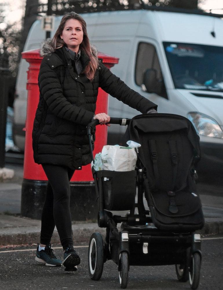 Prinsessa Madeleinen Lontoossa.