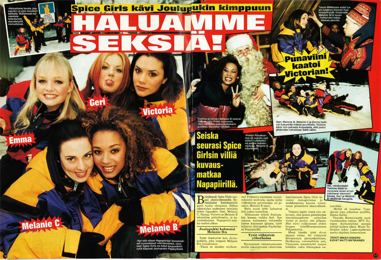 Spice Girls Lapissa