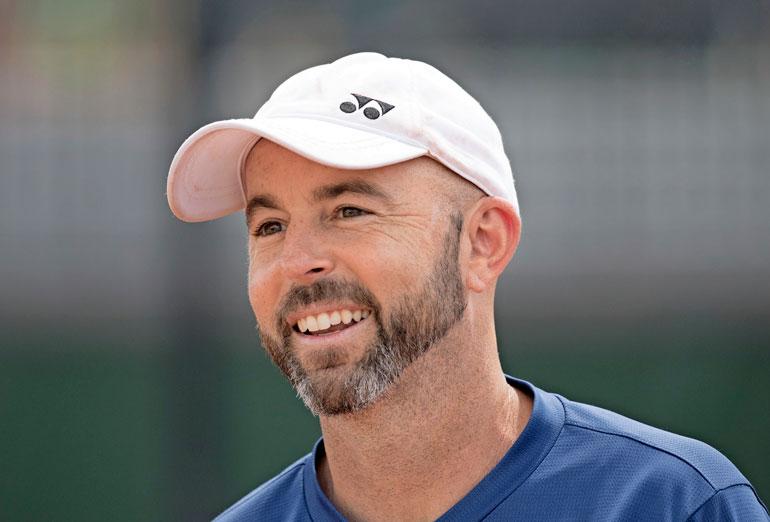 Povipommin hurmannut Jamie Delgado toimii tennistähti Andy Murrayn valmentajana.