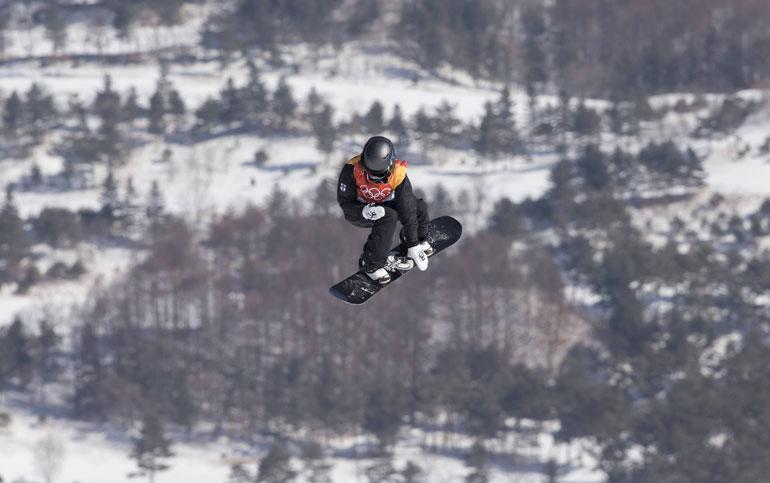 Enni Rukajärvi laski pronssia slopestylessa.