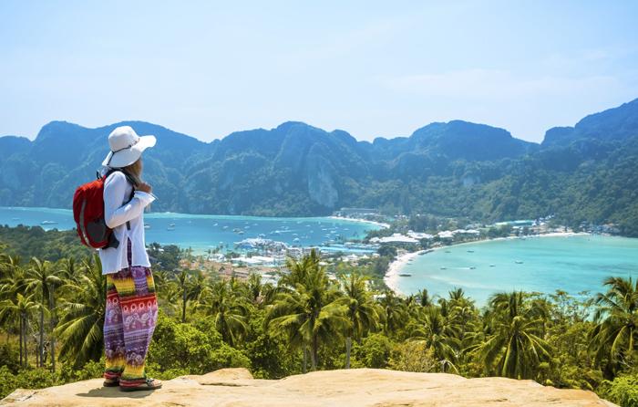 thaimaa, kaakkois-aasia, seiska, lomalla, matkalla