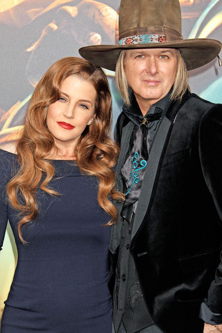 Lisa Marie Presley ja Michael Lockwood olivat naimisissa kymmenen vuotta.