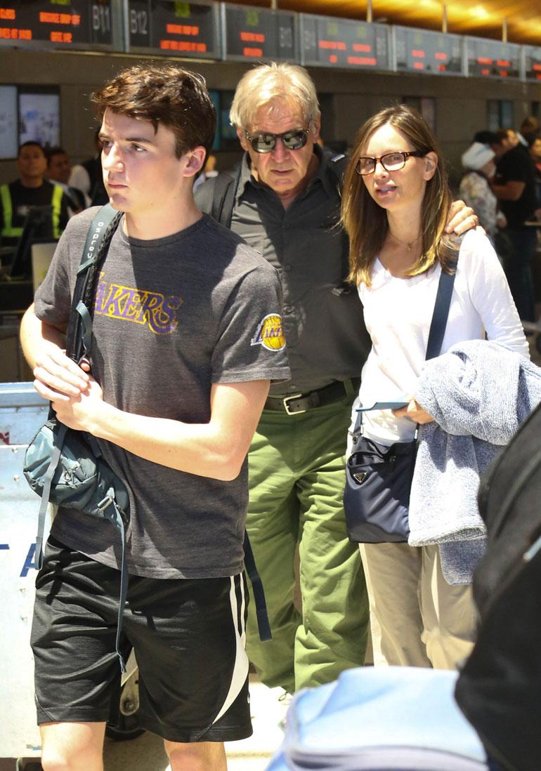 Harrison Ford, Calista Flockhart ja Liam Ford