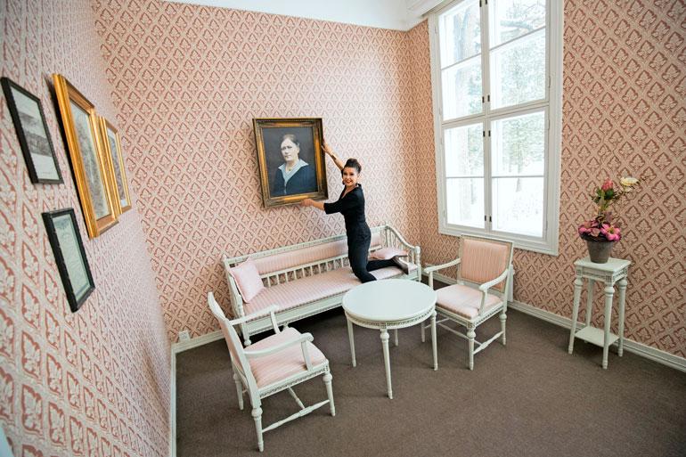 – Olen puunannut tiloja koko alkuvuoden. Nyt Villilän kartano ja kulttuurikeskus on valmis ottamaan vieraita vastaan, Sani sanoo.