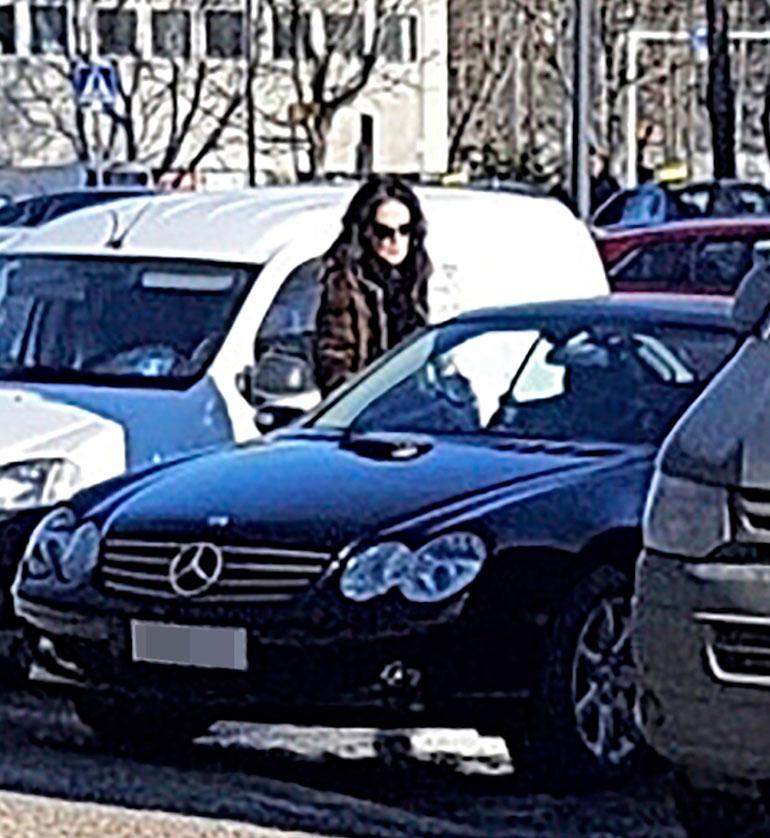 Kaarina Kivilahden auto.