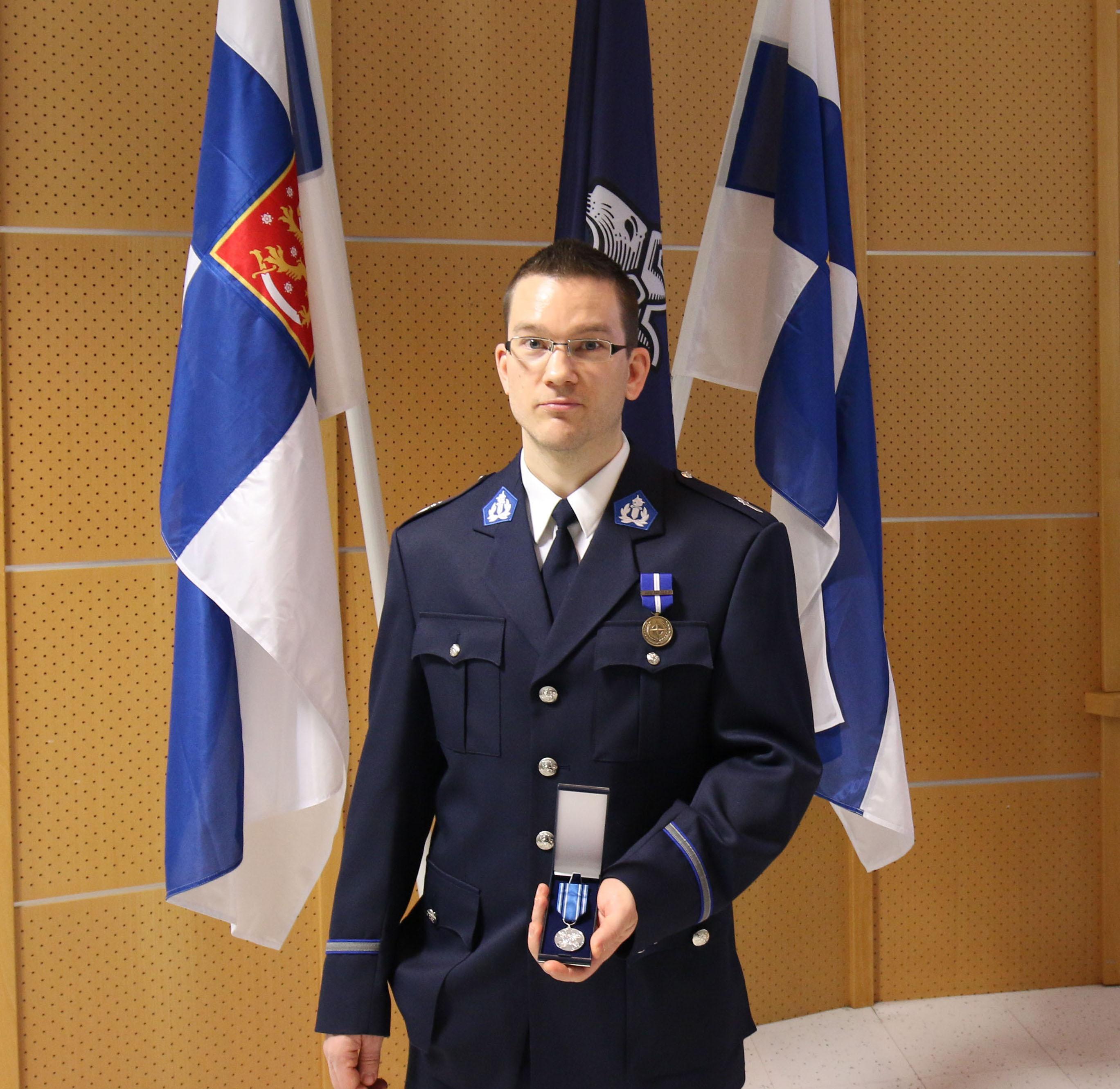 Tuomas Pelkonen palkittiin helmikuussa.