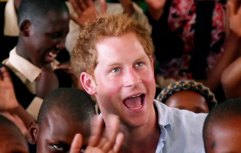 Prinssi Harry on ahkera matkailija.