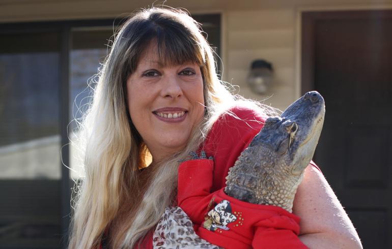 Angela Lance ja alligaattori Lilly