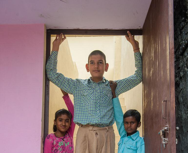 Karan Singh maailman pisin 8-vuotias