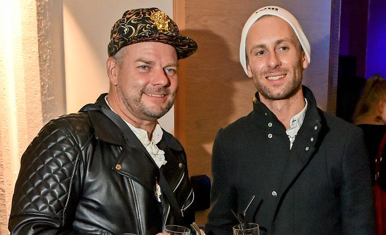 Jari Sillanpää ja Siim.