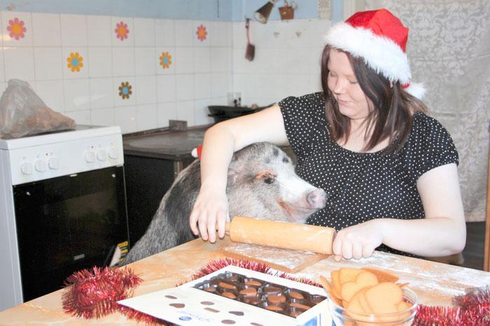 Bertta ja Johanna leipovat